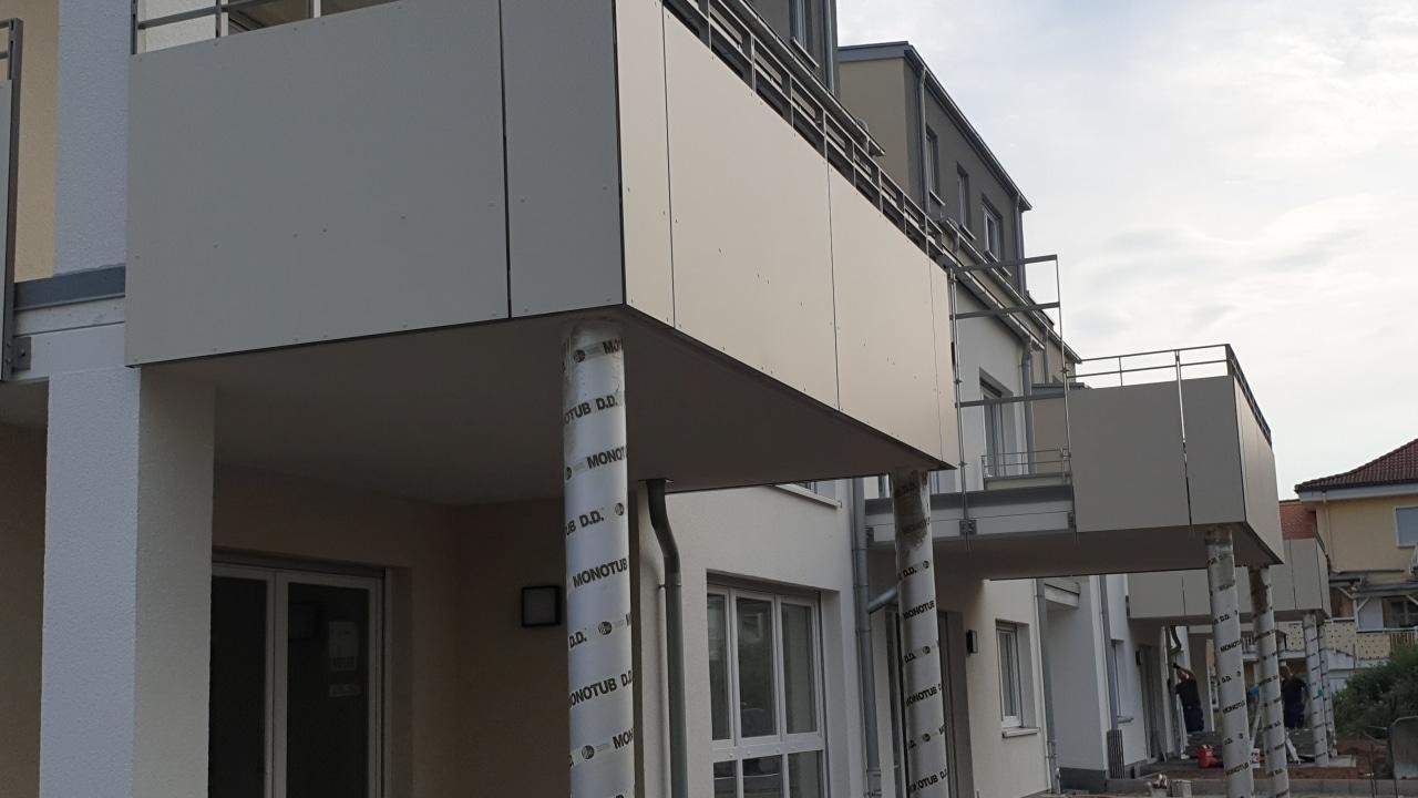 Neue Wohnanlage in Gelnhausen