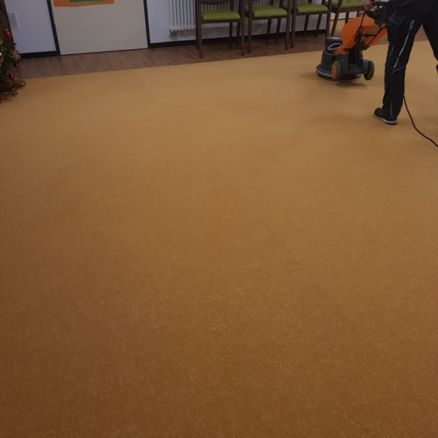 Teppich- und Polsterreinigung