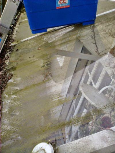 Wintergarten- und Vordachreinigung