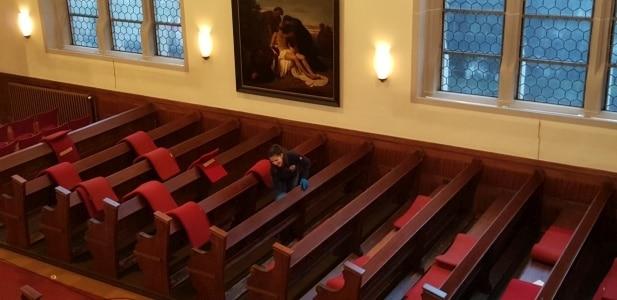 Reinigung von Kirchen